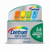 Centrum Silver Multivitamin And Multimineral For Adults Over 50 -- 125 Tablets By Herbal Medicos