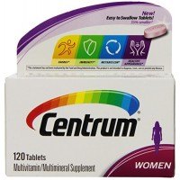 Centrum Women Multivitamin/Multimineral Supplement (120-Count Tablets) By Herbal Medicos