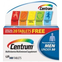 Centrum Multivitamin And Multimineral Supplement Personalized For Men - 120 Tablets By Herbal Medicos