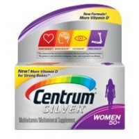 Centrum Silver Women 50+ Multivitamin 120 Count By Herbal Medicos