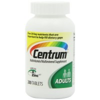 Centrum Adult Multivitamin/Multimineral Supplement (200-Count Tablets) By Herbal Medicos