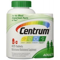 Centrum Multivitamin For Adults (425 TOTAL TABLETS Including A Bonus Travel Size Bottle) By Herbal Medicos