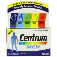 Centrum Multivitamin Men Tablets - Pack Of 30 By Herbal Medicos