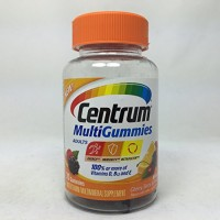 Centrum Adults MultiGummies Multivitamin/Multimineral Supplement (Natural Berry, Cherry, & Orange Flavor, 70-Count Gummies) By Herbal Medicos