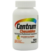 Centrum Multivitamin/Multimineral Supplement (Orange Burst Flavor, 100-Count Chewables) By Herbal Medicos