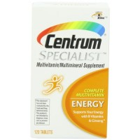 Centrum Specialist Energy Complete Multivitamin Supplement -120 Tablets