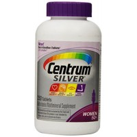 New! Easier To Swallow Centrum Silver Women's 50+ 250 Tablets By Herbal Medicos
