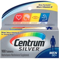 Centrum Silver Men's 50+ Tablets 100 Tablets By Herbal Medicos