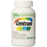 Centrum Multivitamin/Multimineral Supplement - 200 Tablets (2 PACK 400 Tablets) By Herbal Medicos