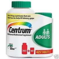 Centrum Adults Multivitamin Multimineral Supplement: 425 Tablets By Herbal Medicos