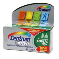 Centrum Silver Multivitamin/Multimineral Supplement Adults 50+, 80 Count By Herbal Medicos