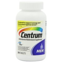 Centrum Men's Multivitamin/Multimineral Supplement, 200 Tablets By Herbal Medicos