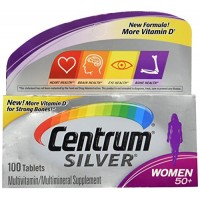 Centrum Silver Women 50+ Multivitamin/Multimineral Supplement Tablets, 100 Ct By Herbal Medicos