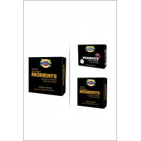 Moments Gold Delay Condoms & Wipes Special Offer By Herbal Medicos