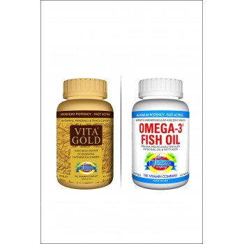 Buy Vita Gold and Get Omega 3 For Free By Herbal Medicos