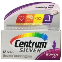 Centrum Silver Women's Multivitamin Supplement, 100 Tabs