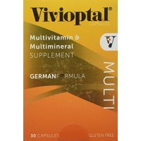 Vivioptal, Multivitamin, 30 Capsules By Herbal Medicos