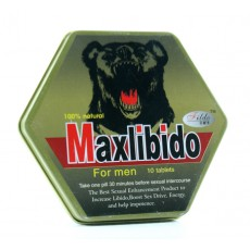 MAXLIBIDO 10 TABLETS FOR MEN SEX ENHANCEMENT USA