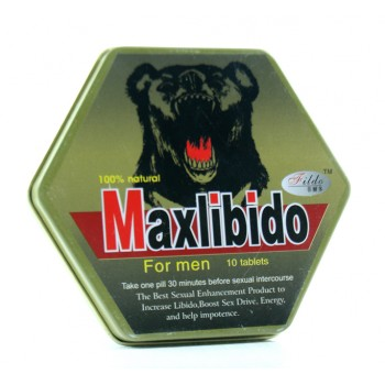 MAXLIBIDO 10 TABLETS FOR MEN SEX ENHANCEMENT USA