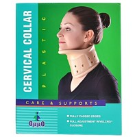 Oppo Cervical Collar Plastic By Herbal Medicos