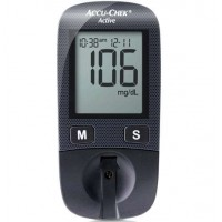 Accu Chek Active Meter Blood Glucose Monitoring System By Herbal Medicos