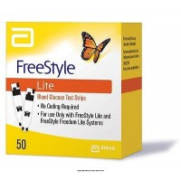 Abbott Freestyle Lite 50 Test Strips By Herbal Medicos