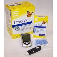 ABBOTT Free style gluco Meter By Herbal Medicos