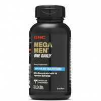 GNC Mega Men One Daily Multivitamin 60 Caplets