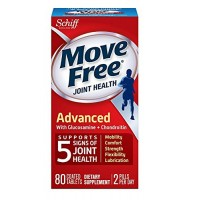Move Free Advanced Plus MSM with Glucosamine & Chondroitin 120 Tablets