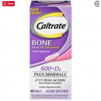 Caltrate 600 D3 Plus Minerals 60 Tablets- Imported
