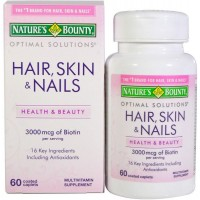 Hair, Skin & Nails Multivitamin - Natures Bounty