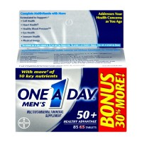 One A Day Men's 50+ 85 Tablets