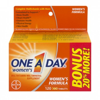 One A Day Womens Formula - 120 Tablets