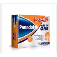 Panadol Cold + Flu All in One 24 Tablets (Made in Spain)