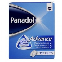 Panadol Advance In Pakistan - Made in Ireland - 72 Tablets