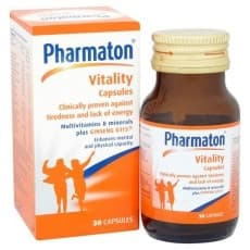 Pharmaton Vitality Capsules - Supplement (30 Capsules)