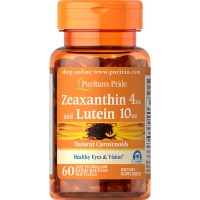 Puritan's Pride Lutein 20 mg with Zeaxanthin, 120 Softgels