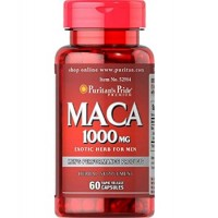 Maca 1000 mg Exotic Herb for Men / 60 Capsules
