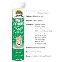 Sunlife Multivitamin - Orange Flavour