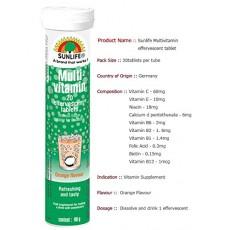 Sunlife Multivitamin - Orange Flavour