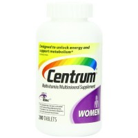 Centrum Women, 200-Count Bottle By Herbal Medicos