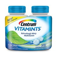 Centrum Vitamints Multivitamins, Cool Mint, 240 Count By Herbal Medicos