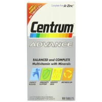 Centrum Advance (100 Tablets) By Herbal Medicos