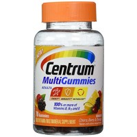 Centrum MultiGummies Adults Multivitamins Assorted Fruit, 70 Gummies (Pack Of 2) Herbal Medicos