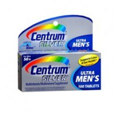 Centrum Silver Men's 50+ Tablets 100 Tablets (Pack Of 3) By Herbal Medicos