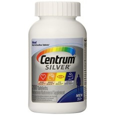 Centrum Silver Men Multivitamin/Multimineral Supplement (200-Count Tablets) By Herbal Medicos