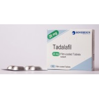 Sovereign (Generic) Tadalafil 20mg | Erectile Dysfunction Treatment