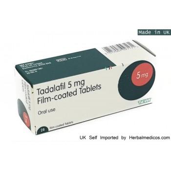 Tadalafil 5mg Tablets X 28 (Generic Cialis UK)