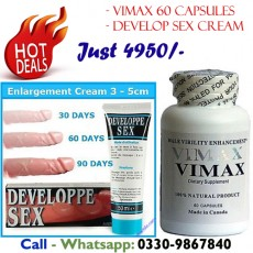 100% Original Vimax with Develop Sex Cream Just 4950/-