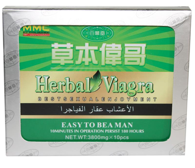 Green viagra pills